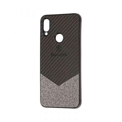 Чехол для Xiaomi Redmi Note 7 Baseus color textile-Black