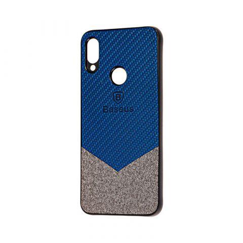 Чехол для Xiaomi Redmi Note 7 Baseus color textile-Blue