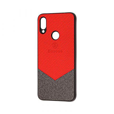 Чехол для Xiaomi Redmi Note 7 Baseus color textile-Red