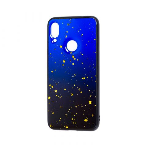 Чехол для Xiaomi Redmi Note 7 Color Конфети-Midnight Blue