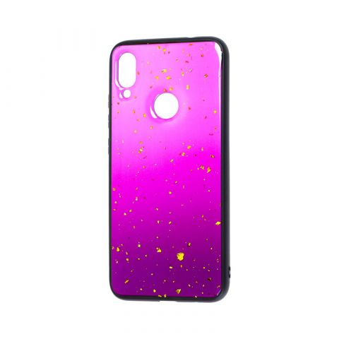 Чехол для Xiaomi Redmi Note 7 Color Конфети-Purple