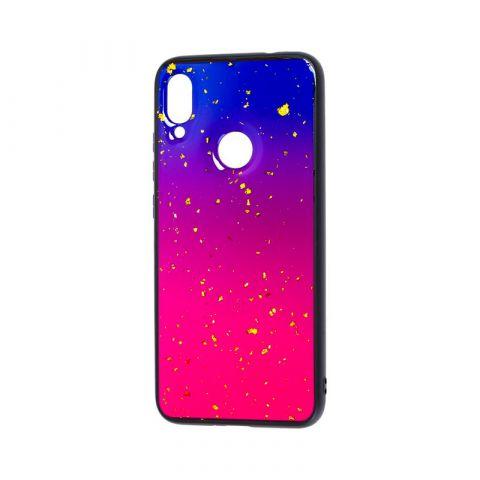 Чехол для Xiaomi Redmi Note 7 Color Конфети-Violet
