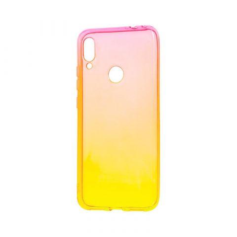 Чехол для Xiaomi Redmi Note 7 Gradient Design-Yellow