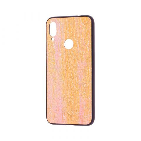 Чехол для Xiaomi Redmi Note 7 Holographic-Gold