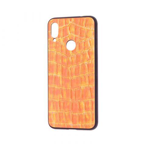 Чехол для Xiaomi Redmi Note 7 Holographic-Orange