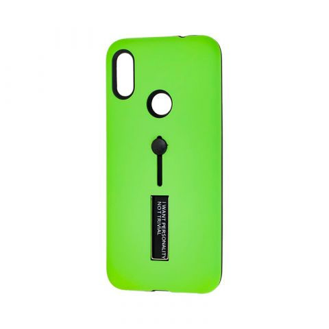 Чехол для Xiaomi Redmi Note 7 Kickstand-Green
