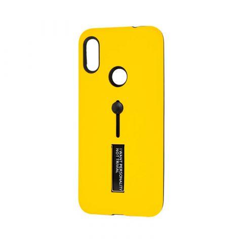 Чехол для Xiaomi Redmi Note 7 Kickstand-Yellow