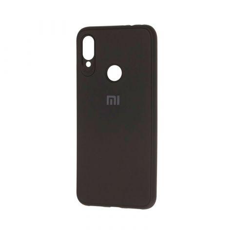 Чехол для Xiaomi Redmi Note 7 Logo-Black