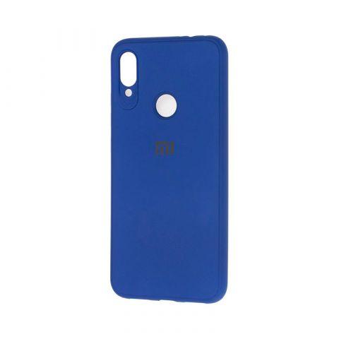 Чехол для Xiaomi Redmi Note 7 Logo-Blue