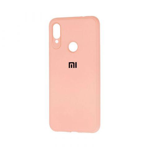 Чехол для Xiaomi Redmi Note 7 Logo-Pink Sand