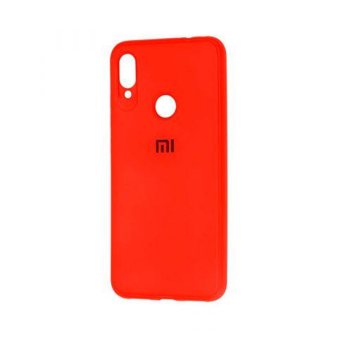 Чехол для Xiaomi Redmi Note 7 Logo-Red