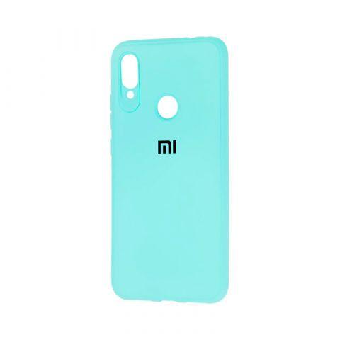 Чехол для Xiaomi Redmi Note 7 Logo-Turquoise