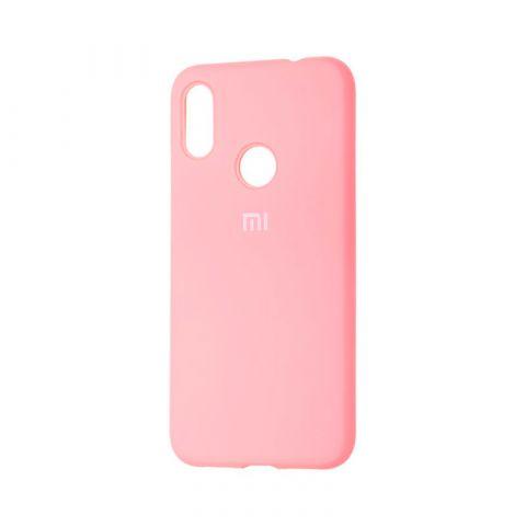 Чехол для Xiaomi Redmi Note 7 Silicone Full-Light Pink