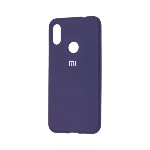 Чехол для Xiaomi Redmi Note 7 Silicone Full-Midnight Blue