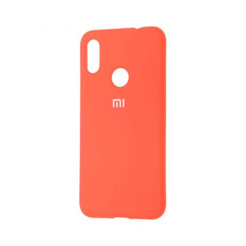 Чехол для Xiaomi Redmi Note 7 Silicone Full-Orange
