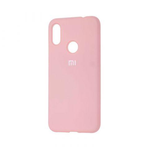 Чехол для Xiaomi Redmi Note 7 Silicone Full-Pink Sand