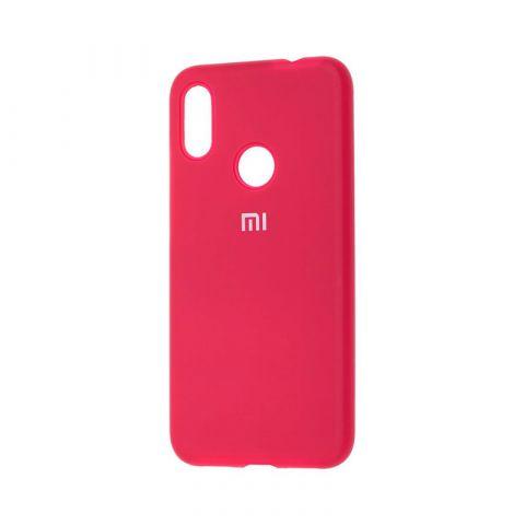 Чехол для Xiaomi Redmi Note 7 Silicone Full-Rose Red