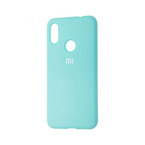 Чехол для Xiaomi Redmi Note 7 Silicone Full-Turquoise