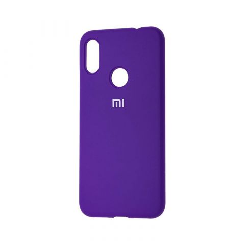 Чехол для Xiaomi Redmi Note 7 Silicone Full-Ultra Violet