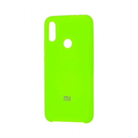 Чехол для Xiaomi Redmi Note 7 Soft Touch Silicone Cover-Lime