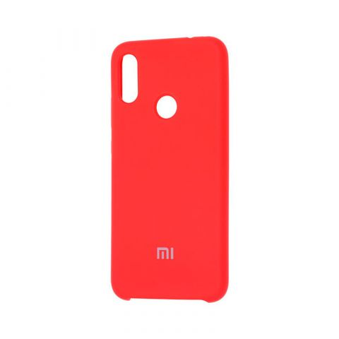 Чехол для Xiaomi Redmi Note 7 Soft Touch Silicone Cover-Red