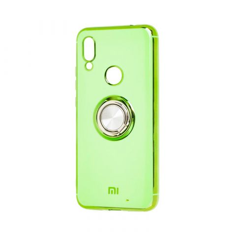 Чехол для Xiaomi Redmi Note 7 SoftRing-Green