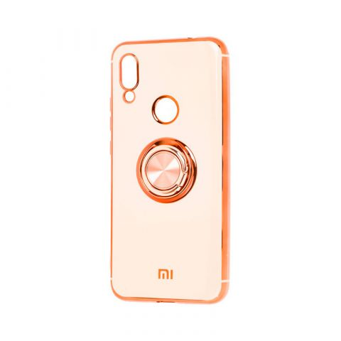 Чехол для Xiaomi Redmi Note 7 SoftRing-Rose Gold