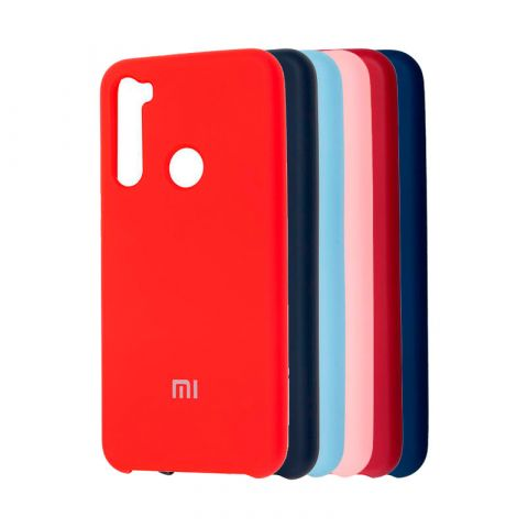 Чехол для Xiaomi Redmi Note 8 Soft Touch Silicone Cover