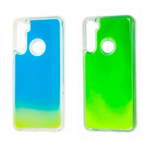 Чехол для Xiaomi Redmi Note 8 жидкий песок