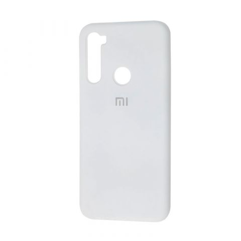 Чехол для Xiaomi Redmi Note 8T Silicone Full-White
