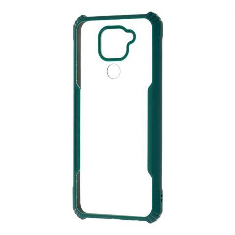 Чехол для Xiaomi Redmi Note 9 Defense Shield Silicone-Green