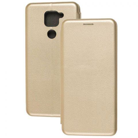 Чехол-книжка для Xiaomi Redmi Note 9 Premium-Gold