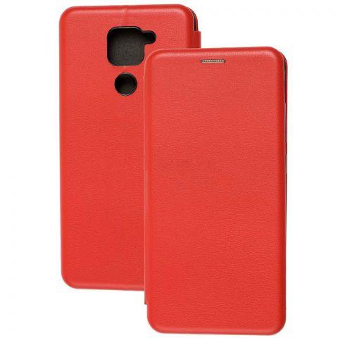 Чехол-книжка для Xiaomi Redmi Note 9 Premium-Red