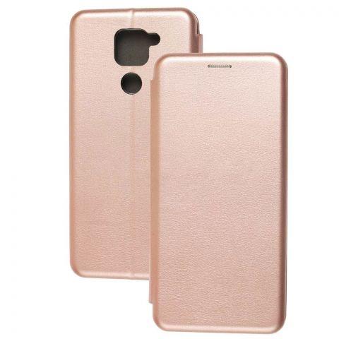 Чехол-книжка для Xiaomi Redmi Note 9 Premium-Rose Gold
