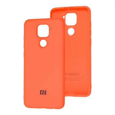 Чехол для Xiaomi Redmi Note 9 Silicone Full-Orange