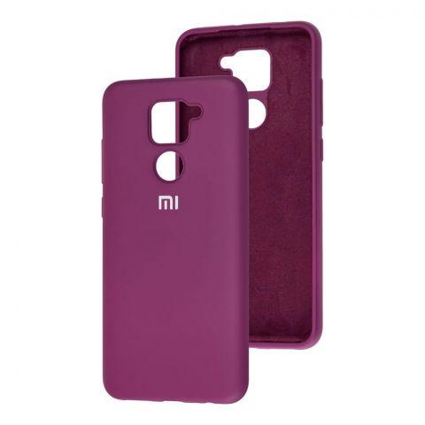 Чехол для Xiaomi Redmi Note 9 Silicone Full-Purple