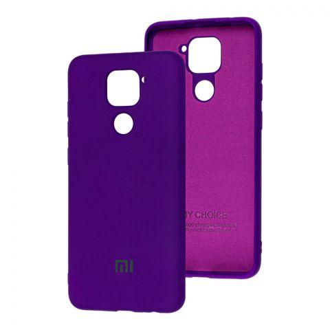 Чехол для Xiaomi Redmi Note 9 Silicone Full-Ultra Violet