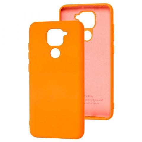 Чехол для Xiaomi Redmi Note 9 Silicone Full without Logo-Papaya