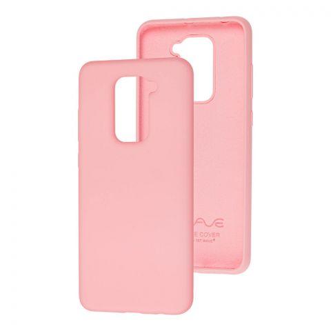 Силиконовый чехол для Xiaomi Redmi Note 9 Wave Full-Light Pink