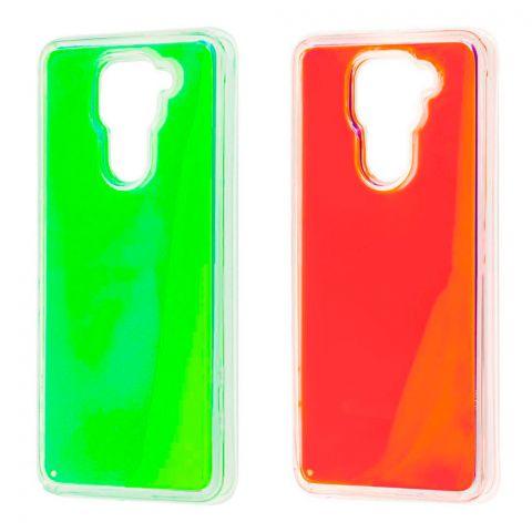 Чехол для Xiaomi Redmi Note 9 Жидкий Песок