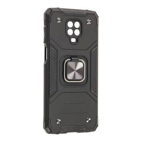Противоударный чехол для Xiaomi Redmi Note 9S / 9 Pro / 9 Pro Max Hard Defence-Black