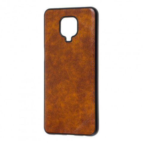 Чехол для Xiaomi Redmi Note 9S / 9 Pro / 9 Pro Max Lava case-Brown
