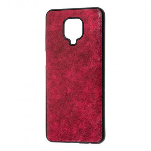 Чехол для Xiaomi Redmi Note 9S / 9 Pro / 9 Pro Max Lava case-Red Raspberry