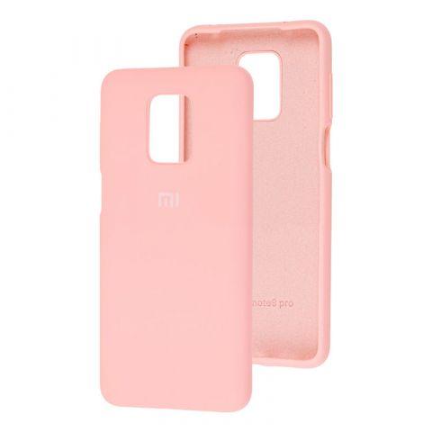Чехол для Xiaomi Redmi Note 9S / 9 Pro / 9 Pro Max Silicone Full-Pink Sand