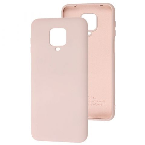 Чехол для Xiaomi Redmi Note 9S / 9 Pro / 9 Pro Max Silicone Full without Logo-Pink Sand