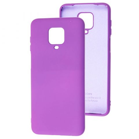 Чехол для Xiaomi Redmi Note 9S / 9 Pro / 9 Pro Max Silicone Full without Logo-Violet
