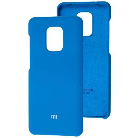Силиконовый чехол для Xiaomi Redmi Note 9S / 9 Pro / 9 Pro Max Soft Touch Premium-Blue