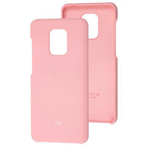 Силиконовый чехол для Xiaomi Redmi Note 9S / 9 Pro / 9 Pro Max Soft Touch Premium-Light Pink