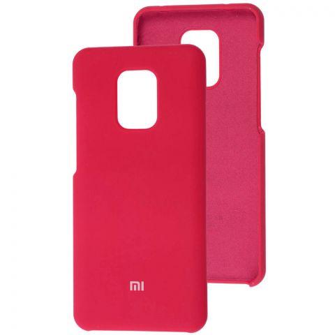 Силиконовый чехол для Xiaomi Redmi Note 9S / 9 Pro / 9 Pro Max Soft Touch Premium-Red Raspberry
