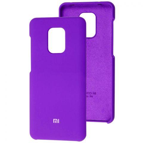 Силиконовый чехол для Xiaomi Redmi Note 9S / 9 Pro / 9 Pro Max Soft Touch Premium-Ultra Violet